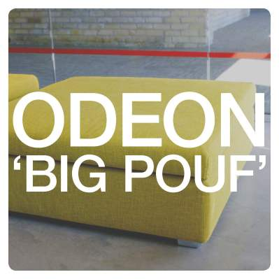 Odeon 'Big Pouf' Ottomans