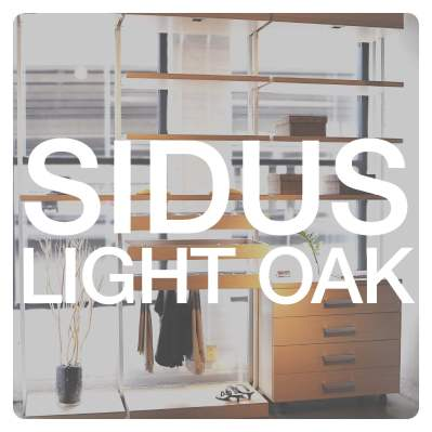 'Sidus' Light Oak Closet