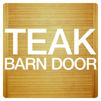 TEAK BARN DOOR